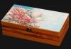 Ξυλοκιβώτια με ειδικές εκτυπώσεις τουριστικών περιοχών. Wooden-pack with special printings tourist areas