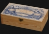 Ξυλοκιβώτια ελαιόλαδου με ειδικές εκτυπώσεις