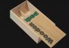 Ξυλοκιβώτια για κρασιά με συρταρωτό καπάκι 2 φιαλών Wooden-pack for wine with sliding lid