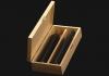 Ξυλοκιβώτια ελαιολάδου κασετίνες Wooden-pack for olive oil caskets