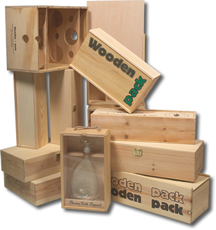 wooden pack